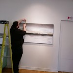 Mores Hominum. CACC. Alliance Francaise, Toronto. Artist Krystina Stamatopoulos. Curator Julia Yakobi. Setup 8. jpg
